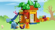 #LegoDuploParty YAY, LEGO DUPLO has Winnie The Pooh toys! Libby will have this on her Christmas list.