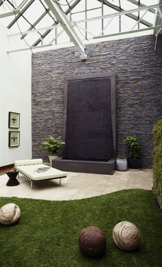amazing outdoor water walls for your backyard