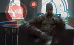 """We Are Mercenary: Lounge"" by Brandon Liao (madspartan013) 