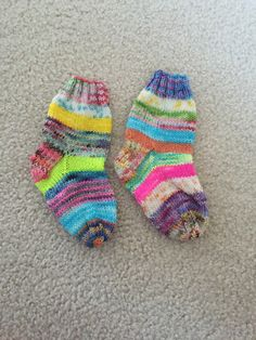 tiny striped socks