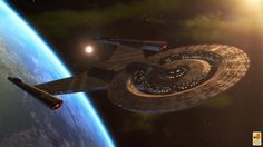 USS Discovery NCC-1031 by thefirstfleet