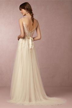 BHLDN Reagan Gown in  Bride Wedding Dresses at BHLDN