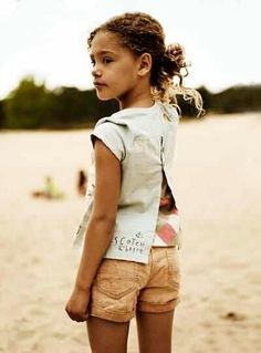 Style Sight - Children's fashion forecast for sping / summer 2014. Details.