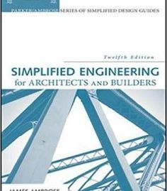 Simplified Engineering For Architects And Builders 12th Edition PDF