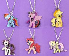 My #little pony #necklace rainbow dash twilight sparkle cute retro kitsch #enamel,  View more on the LINK: http://www.zeppy.io/product/gb/2/111884607976/