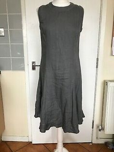MALVIN pure linen summer dress size Condition is Used. Dispatched with Royal Mail Class. Linen Shirt Dress, Smock Dress, Dresses Uk, Formal Dresses, Royal Mail, Embellished Dress, Khaki Green, Summer Dresses For Women, Pure Products