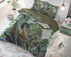 "Komplet pościeli z bawełny ""The botanic garden"" Botanical Gardens, Comforters, Outdoor Blanket, Green, Google, Shop, Products, Pillow Shams, Duvet Covers"