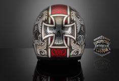 custom helmet germanika