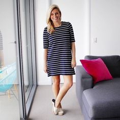 Spring basics for lunch at the pub and this whole outfit came in at under $70.  @hm dress | @ezibuy espadrilles  #everydaystyle #teamstripes  #ootd #wiwt #fblogger #30plusstyle #blogger #brisbanestyle #australianstyle #australianblogger #brisbaneblogger #styleblogger #lookoftheday #style #instastyle #instafashion #outfitpost #igstyle #mystyle #whatiwore #mylook #styleinspiration #dailylook #photooftheday #styleoftheday #sydneystyle #melbourneystyle #streetstyle  #brisbanefashionblogger…