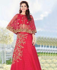 #hey @a1designerwear . Item code: APRL4298 . Buy Admirable Corel Red #Lehenga #Choli #onlineshopping with #worldwideshipping at  https://www.a1designerwear.com/admirable-corel-red-lehenga-choli   . #a1designerwear #a1designerwear . #instashop #worldwide #thankyou