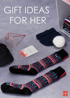 From knitted bobble hats to faux fur socks, these cosy winter accessories make the perfect gifts this festive season.