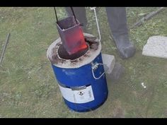 Making a Metal Melting Furnace (Simple, Effective, Propane) Green Sand Casting, Metal Casting, Metal Projects, Welding Projects, Mini Forge, Propane Forge, Blacksmith Forge, Melting Metal, Metal Garages
