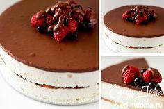 """Торт """"Птичье молоко"""" - идеальный рецепт приготовления от сайта Едим Дома!"""