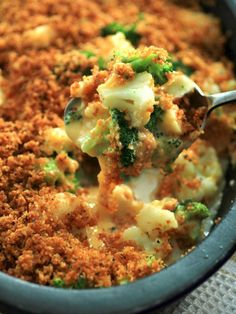 Broccoli Cauliflower Cheese Bake by Noshing With The Nolands
