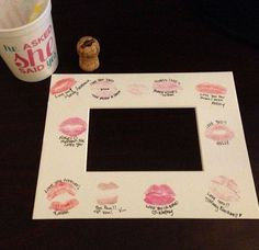 What an awesome idea for brides maids memories :)