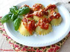 Il Pomodoro Rosso di MAntGra: Tortelli di melanzane