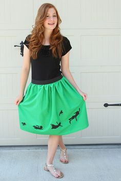 Um... this is the best skirt I have ever seen! I am making it.