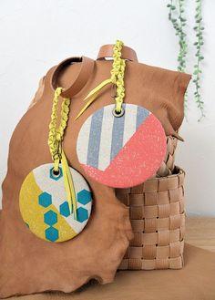 Inspiration file84 ホビーショーのワークショップ echinoのバッグチャーム | コッカファブリック・ドットコム|布から始まる楽しい暮らし|kokka-fabric.com