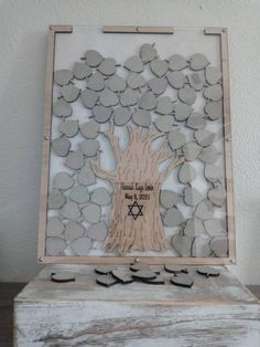 Guest Book Tree, Personalized Wedding Guest Book, Rustic Wedding Guest Book, Wedding Book, Guest Books, Wedding Guest Book Alternatives, Wedding Frames, Bat Mitzvah, Trees