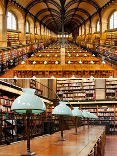 Les plus belles bibliotheques du monde : Sainte-Geneviève
