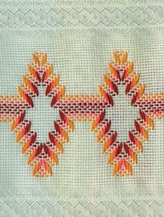 Vagonite Swedish Embroidery, Types Of Embroidery, Embroidery Patterns, Cross Stitching, Cross Stitch Embroidery, Hand Embroidery, Cross Stitch Patterns, Weaving Designs, Weaving Projects
