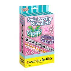 Soda Pop-Top Bracelets Kit | $6.99 each