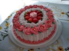 Cake Decorating, Happy Birthday, Lord, Cakes, Desserts, Cake Stands, Pastry Cake, Round Cakes, Homemade Cakes