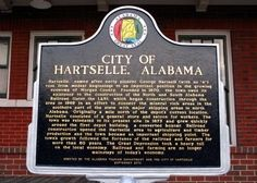 Historical Markers around Hartselle, AL