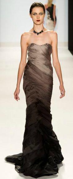 ombre gown by #ChristopherPalu #ProjectRunway Season 10