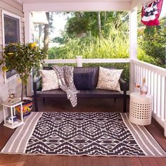 Porch Design And Decorating Ideas Outdoor Spaces Porch