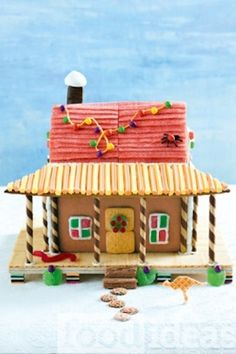 LOVE this Aussie gingerbread house. Wish I had time to make it but it may have to be another year