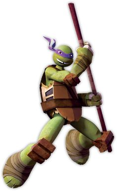 Donatello Biography - He is by far the most intelligent of the four turtles. He is often depicted as the geek in the group. Check out the TMNT Donatello Bio.