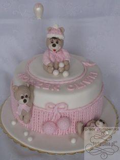 1+urodziny+-+tort+w+galerii+prac+użytkowników+www.tortownia.pl