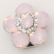 Pink Opal Flower Child #fashion #swarovski #charms #jewelry