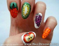 fruit 5 nail designt