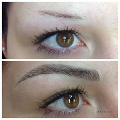 eyebrow feathering tattoo - Google-Suche