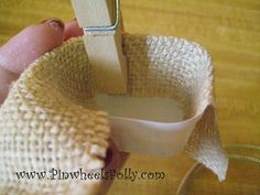 Dollar Store Dollhouse: Make A Mini Basket
