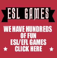 EFL ESL Teaching Activities, Lessons, Games, Worksheets