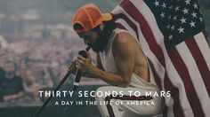 cool Jared Leto and Thirty Seconds to Mars Launch 'A Day within the Lifetime of America' Movie Challenge for Fourth of July