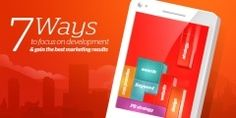 7 ways to focus on development and gain the best marketing results App Stores, Ad Company, We The Best, To Focus, Mobile App, Gain, Discovery, Crowd, Indie
