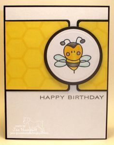 Happy Birthday Bee by Janet Hunnicutt - Cards and Paper Crafts at  Splitcoaststampers d48aa69a8228