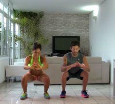 Para quem anda sem tempo de ir à academia, alguns treinos simples em casa são aliados poderosos para manter a forma – e perder mais alguns quilos. A melhor notícia é que é possível conquistar bom resultados mesmo com treinos bem curtos. É o que mostram a ex-BBB Mayra Cardi e seu personal trainer, Rogério Stha