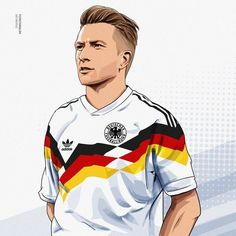 Excellent football player illustrations created by FCVectoraldo. They featured present day greats as well as past legends in a variety . Football Art, Football Players, Neymar, Dfb Team, Funny Caricatures, Illustration Art Drawing, Champions League, World Cup, Art Quotes