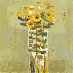 Tall Tale by Kirsty Wither Flower Vases, Flower Art, Paintings I Love, Abstract Flowers, Heart Art, Art Sketchbook, Creative Crafts, Art Techniques, Painting Inspiration