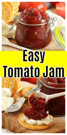 Freezer Jam Recipes, Jelly Recipes, Canning Recipes, Tomato Chilli Jam, Cooking Jam, All You Need Is, Retro Recipes, Vintage Recipes, Jam And Jelly