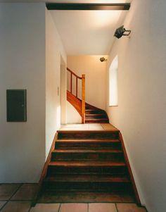Anbau Privathaus modern-treppenhaus