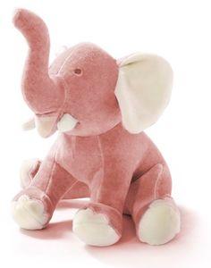 miYim Jane Goodall Elephant Plush. Elefante de pelúcia