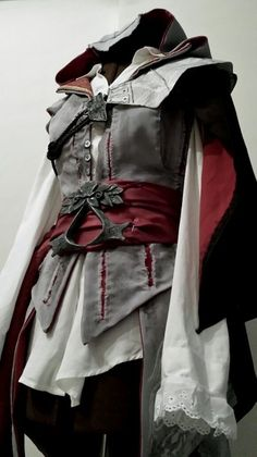 Assassins Creed - Ezio - Work In Progress by Mandi180sx on deviantART