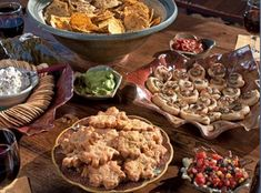 Kathryn Greeley's football party food