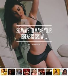 20 Ways to Make Your #Breasts Grow ... - #Beauty